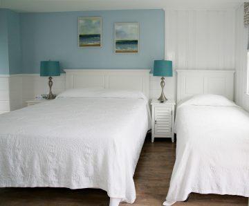 Queen + Twin Rooms